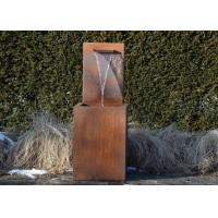 Wholesale Professional Corten Steel Garden Water Features Fountains 150cm Height from china suppliers