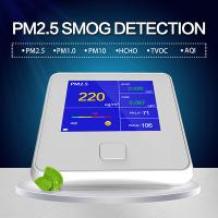 Wholesale Know What's in the Air You Breathe - Air Quality Monitor Formaldehyde(HCHO) Monitor with PM2.5/PM10/TVOC Test USA from china suppliers