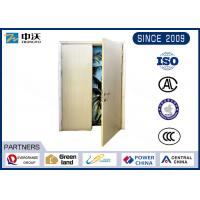 Wholesale 0.5 Hour Wooden Fire Doors , Double Leaves Fire Rated Interior Wood Doors from china suppliers