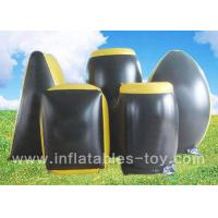 Wholesale Professional Inflatable Sports Games , Inflatable Paintball Bunker With 0.55 PVC Material from china suppliers