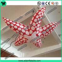 Wholesale Sea Event Inflatable Animal Giant Inflatable Cartoon Red Inflatable Starfish from china suppliers
