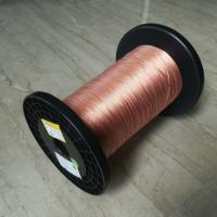 Wholesale 5600v Taped Self Bonding Wire , 0.05 X 120 High Frequency Flat Litz Wire from china suppliers