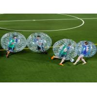Quality Outdoor Play Equipment Zorb Ball Football Inflatable Human Bubble Ball Soccer for sale