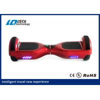 Light Up Red 10 Inch Self Balancing Scooter Handless Segway CE Approved