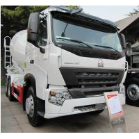 China 8cbm Cement Mixing Trucks , Concrete Mixing Transport Truck 336 HP on sale