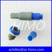 Buy cheap lemo connector P series 2 pin plastic connector from Wholesalers