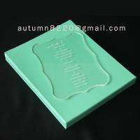 Wholesale B IC (2) special design acrylic wedding invitation card from china suppliers