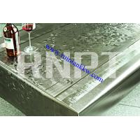 Wholesale Restaurant Brushed Metallic PVC Table Cloth from china suppliers