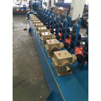 Wholesale Blue color Low Carbon Steel Round / Square / Rectangular Tube Mill Line I.D Φ450-Φ550mm from china suppliers