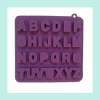 Wholesale alphabet silicone ice tray ,FDA ,LFGB silicone ice trays from china suppliers