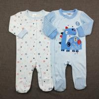 Wholesale Warm Velour Romper Baby Winter Snowsuit Breathable Baby Onesie 2pcs Set New Born  Baby Clothes from china suppliers