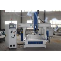 Wholesale Aluminum Wood 4 Axis Cnc Router Machine 9.0KW High Performance White And Blue from china suppliers