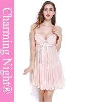 Wholesale Nylon / Polyester Girls Babydoll For Honeymoon Mature Women Sexy Nightwear from china suppliers