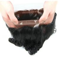 Wholesale Unprocessed 360 Human Hair Lace Closure , 100 Human Hair Lace Front Wigs from china suppliers