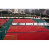 Wholesale Waterproof Recycled Interlocking Sports Flooring For Sports Hall Floor Covering from china suppliers
