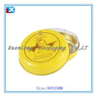Wholesale small round tin from china suppliers