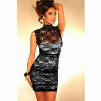 China Chic Clubwear, Made of Lace, Available in Various Sizes on sale