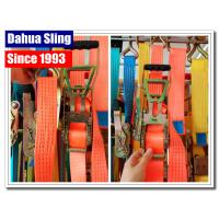 Wholesale Heavy Duty Tire Tie Down Ratchet Straps , Load Securing Straps With Ratchet from china suppliers