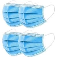 Wholesale Breathable 3 Ply Disposable Face Mask For Anti Droplet / Particulate / Bacteria from china suppliers