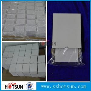 Quality diamond polishing finish transparent acry pexiglass block cast 25mm clear solid acrylic cube block for sale