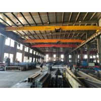 Wholesale Electric Single Girder Overhead Travelling Crane Light Duty 10 Ton Bridge Crane 17m from china suppliers
