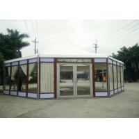 Wholesale Octagonal Marquee Party Tent Wood Grain -30 To 70 °C Temperature Resistance from china suppliers