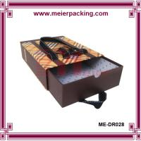 Wholesale Paper drawer box with silk ribbon slide drawer paper box ME-DR028 from china suppliers