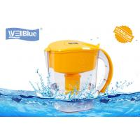 China Alkaline Mineral Water Pitcher Fast Filtering , Plastic Water Purifier Jug 3.5L on sale