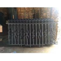 Wholesale Outdoor Portable Modern Ornamental Iron Fence Panels For Villas from china suppliers