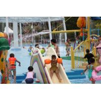 Wholesale Fiberglass Water Pool Slides in Medium Water Playground 3200*2700*1300 from china suppliers