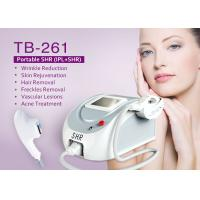China 3 in 1 E-Light IPL SHR Hair Removal Machine for Acne Eliminate / Spider Vein Removal on sale