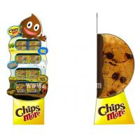 Wholesale 3D Chips More Paper Display Standee,Food Floor Displays Standees from china suppliers