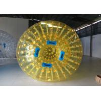 Wholesale Colorful Outdoor Inflatable Toys , Inflatable Body Zorb Ball Football from china suppliers