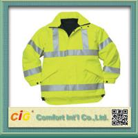 Wholesale Roadway Winter Reflective Safety Coat for Personal Security Waterproof and Windproof from china suppliers