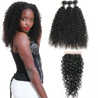 Wholesale 9A Non - Remy 100 Percent Virgin Malaysian Hair Water Wave Lace Frontal Closure from china suppliers
