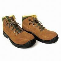 China Suede Leather PU Safety Boots with Steel Toe Cap on sale