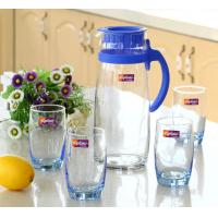 Wholesale Morden Design Glass Water Kettle Juice Kettle For Cold Water 1000ml from china suppliers