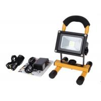 Wholesale 10W Waterproof Rechargeable LED Flood Lights Black Aluminum 4 Hours Portable from china suppliers