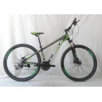 China Entry Level Hardtail Mountain Bike 120mm PVC Grip Alloy Pedal Body for sale