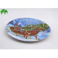 Wholesale Personalized Christmas Party Disposable Paper Plates / Disc 7x7 8x8 9x9 Inch from china suppliers