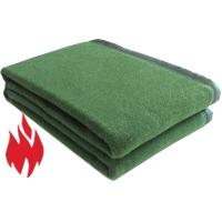 Buy cheap Fire Retardant Blankets for Army, 300 gsm, fleece, warm, light weight, washable from wholesalers