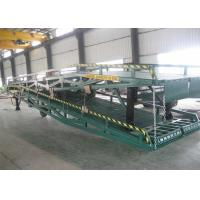 Wholesale Customize Design Portable Loading Ramps / Loading Dock Ramps With Solid Tyres from china suppliers