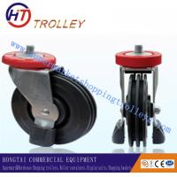"Wholesale 125 mm Shopping Trolley Spare Parts Of  5"" Three Sides Wheel Castor For Machine from china suppliers"
