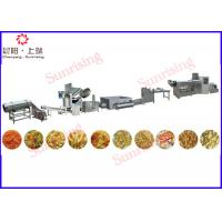 Wholesale fully automated nik nacks line with 2 extruders capacity of 300kg/hour from china suppliers