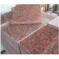 Wholesale Maple Leaf Red Granite Stone Slab / G562 Granite Tile CE Approved from china suppliers