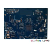 Wholesale 2 Layers Medical Equipment PCB Printed Circuit Board With Blue Solder Mask from china suppliers
