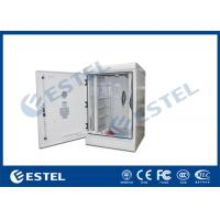 Wholesale 17U Aluminum Material Outdoor Telecom Cabinet With 300W 24VDC Air Conditioner from china suppliers