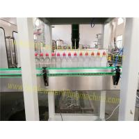 Wholesale Juice / Water Automatic Bottle Filling Machine , Customized Drinking Water Bottling Plant from china suppliers