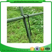 Wholesale Black Garden Plant Accessories Wire  Buckle Gardening Cross Pillar Connecting Pieces from china suppliers