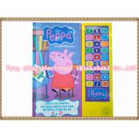 Wholesale 27 Button Module for kids Sound Book with 26 alphabets and one custom sound from china suppliers